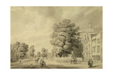 St Johns College, Oxford Giclee Print by Michael Rooker