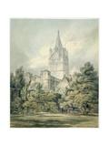 No.0917 Christ Church, Oxford, 1794 Giclee Print by J. M. W. Turner