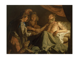 Issac Blessing Jacob, C.1600-50 Giclee Print by Matthias Stomer