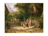 The Cherry Seller, 1824 Giclee Print by William Collins