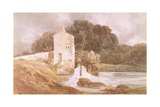 Abbey Mill, Knaresborough Giclee Print by Thomas Girtin