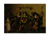 The Concert Giclee Print by Jan Miense Molenaer