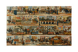 An Ideal Lord Mayor's Show, with Cars, Emblematically Representing Our Principal Colonies, and… Giclee Print by W. Kelly