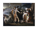 King Lear Weeps over the Body of Cordelia Giclee Print by James Barry