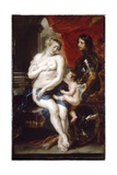 Venus, Mars and Cupid Giclee Print by Peter Paul Rubens