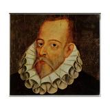 Portrait of Miguel De Cervantes Y Saavedra (1547-1615) Giclee Print by Juan De Jauregui Y Aguilar