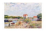 The Loing at Saint-Mammes, 1885 Giclee Print by Alfred Sisley