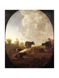 Sunset after Rain, C.1648-52 Giclee Print by Aelbert Cuyp