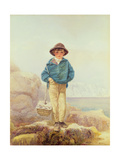 Young England - a Fisher Boy Giclee Print by Alfred Downing Fripp