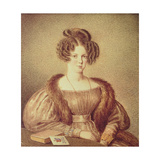 Portrait of Rosamond Best Giclee Print by Mary Ellen Best