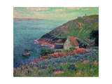 The Bay of Biscay, Brittany Giclee Print by Henry Moret