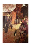 A Village Wedding Giclee Print by John White