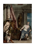 Hermes, Herse and Aglauros, C.1576-84 Giclee Print by Paolo Veronese