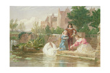 The Children of Charles I Giclee Print by Frederick Goodall