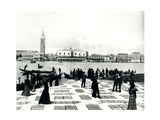 Panorama from the Molo of the Island of San Giorgio 1880-1920 Giclee Print