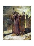 Golgotha, 1892-93 Giclee Print by Nikolai Nikolaevich Ge