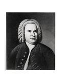 Portrait of Johann Sebastian Bach, German Composer Giclee Print by Elias Gottleib Haussmann