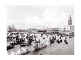 View of the Regatta Passing Through the Bacino of S. Marco 1880-1920 Giclee Print