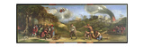 The Sicilian Games, a Scene from the Aeneid, Part of the Frieze in the Camerino of Duke Alfonso… Giclee Print by Dosso Dossi