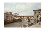 The Pontevecchio, Florence Giclee Print by Antonietta Brandeis