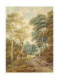 A Lane Near Hindhead Giclee Print by Michael Rooker