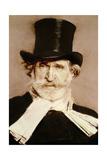 Portrait of Giuseppe Verdi (1813-1901) Giclee Print by Giovanni Boldini
