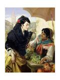 The Spanish Fruit Seller Giclee Print by Robert Kemm