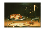 Still Life with Tarts Giclee Print by Sebastian Stoskopff