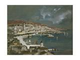 The Harbour of Split, Croatia Giclee Print by Hercules Brabazon Brabazon