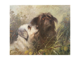 Best of Friends Giclee Print by Abel Hold