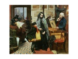 Nameless and Friendless, 1857 Giclee Print by Emily Mary Osborn