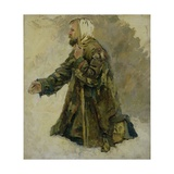God's Fool on His Knees Giclee Print by Vasilii Ivanovich Surikov