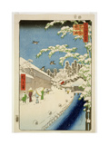 Th Riches 1913 Yabu Street, Atago, Print No.112 from the Series '100 Views of Famous Places in… Reproduction procédé giclée par Ando or Utagawa Hiroshige