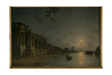 A View of the Thames Giclee Print by Abraham Pether
