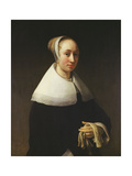 Portrait of a Lady, 1653 Giclee Print by Willem Drost