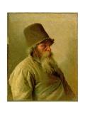 The Miller, 1873 Giclee Print by Ivan Nikolaevich Kramskoy