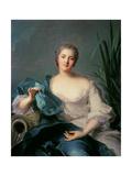 Madame Marie-Henriette Berthelot De Pleneuf Giclee Print by Jean-Marc Nattier