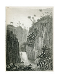 T.1597 Cascade of Regla, Near Mexico, from Vol I of 'Researches Concerning the Institutions and… Giclee Print by Friedrich Alexander, Baron Von Humboldt