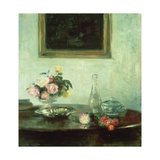 Still Life with Roses Gicleetryck av Carl Holsoe
