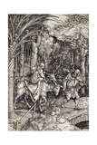 The Flight into Egypt, C.1500 Giclée-Druck von Albrecht Durer