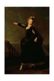 Portrait of Natalia Semenovna Borshchova (1758-1843) 1776 Giclee Print by Dmitri Grigor'evich Levitsky