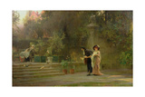 Married for Love, 1882 Giclee Print by Marcus Stone