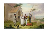 The Interrupted Wedding Giclee Print by Edmund Bristow