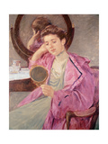Antoinette at Her Dresser Giclee Print by Mary Cassatt