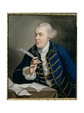 Portrait of John Wilkes (1727-97) C.1768 Giclee Print by Robert Edge Pine