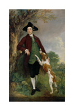 Portrait of George Venables Vernon, 2nd Lord Vernon, 1767 Giclee Print by Thomas Gainsborough