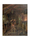 By Hammer and Hand, All Arts Doth Stand (The Forge) Giclee Print by William Banks Fortescue