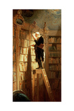 The Book Worm Giclee Print by Carl Spitzweg