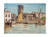 Chelsea Parish Church Giclee Print by Walter Greaves