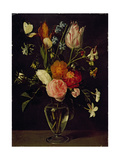 A Vase of Flowers Giclee Print by Daniel Seghers